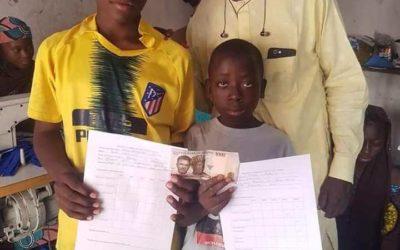 Almajiri Entrepreneurship Support Project (Niger state)